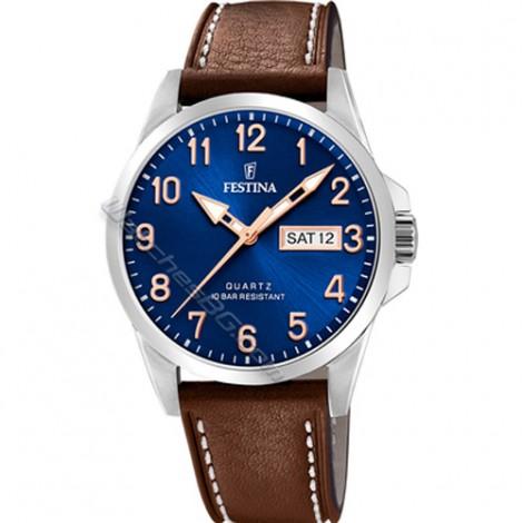 Мъжки кварцов часовник Festina Classic F20358/B