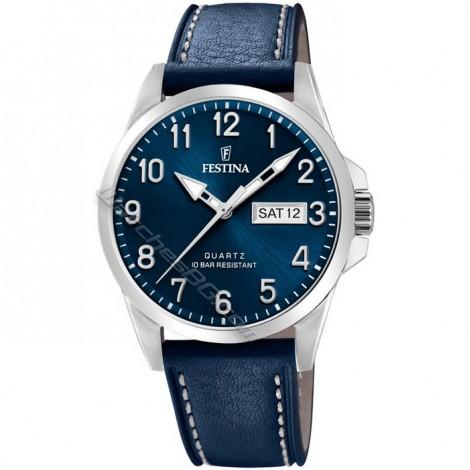 Мъжки кварцов часовник Festina Classic F20358/C
