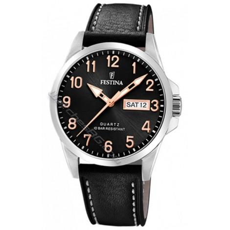 Мъжки кварцов часовник Festina Classic F20358/D