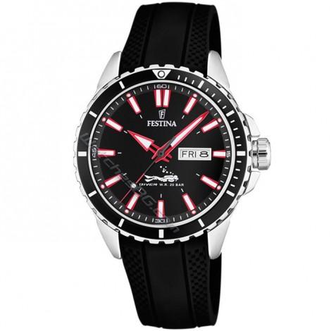 Мъжки кварцов часовник Festina Diver F20378/2