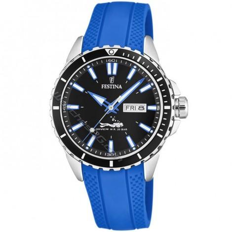 Мъжки кварцов часовник Festina Diver F20378/3
