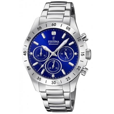 Дамски кварцов часовник Festina BOYFRIEND F20397/2 Chronograph