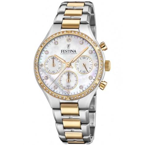 Дамски кварцов часовник Festina Boyfriend F20402/1 Chronograph