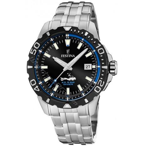Мъжки кварцов часовник Festina Diver F20461/4