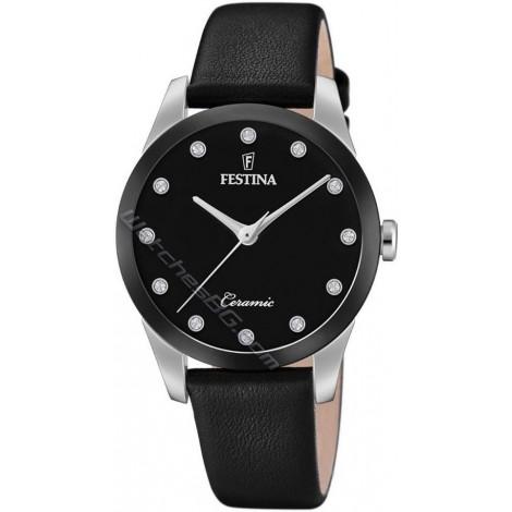 Дамски кварцов часовник Festina Ceramic F20473/3
