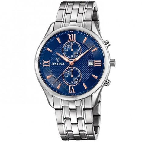 Mъжки кварцов часовник FESTINA Chronograph F6854/6