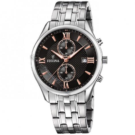 Mъжки кварцов часовник FESTINA Chronograph F6854/7