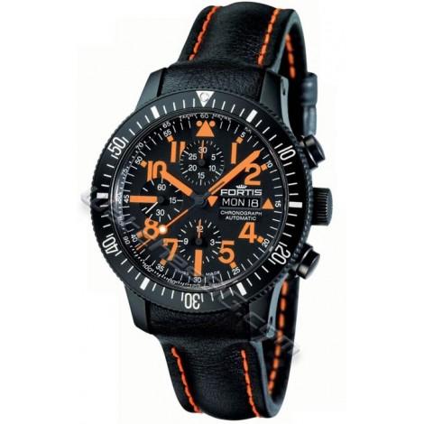 Швейцарски часовник FORTIS B-42 Black Mars 500 638.28.13 L 13