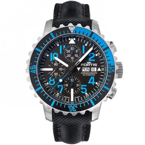 Мъжки механичен часовник FORTIS Marinemaster Blue 671.15.45 LP Chronograph