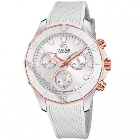 Швейцарски дамски кварцов часовник  JAGUAR J890/1 Chronograph