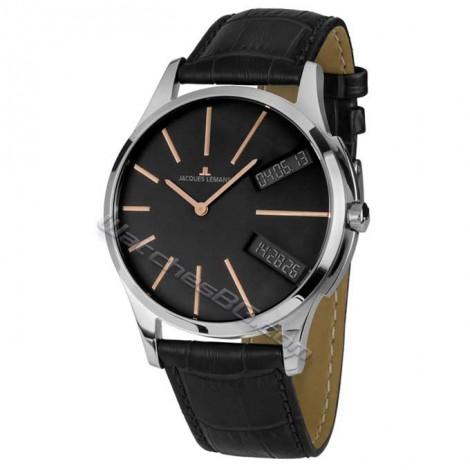 """Мъжки кварцов часовник JACQUES LEMANS Classic """"London"""" 1-1813H"""