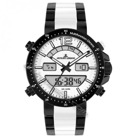 Мъжки часовник JACQUES LEMANS Sport Milano 1-1714F