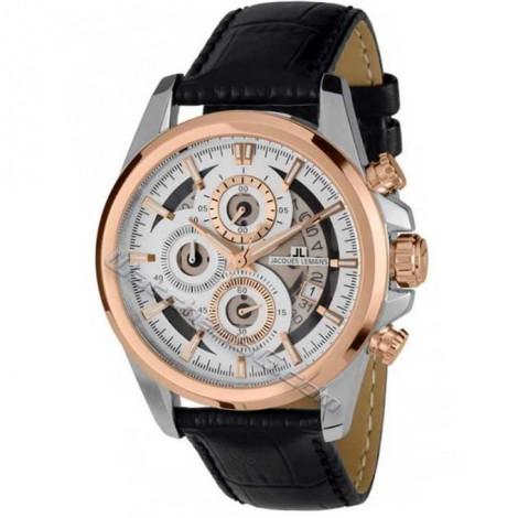 """Мъжки кварцов часовник JACQUES LEMANS Classic """"Liverpool"""" 1-1847C"""
