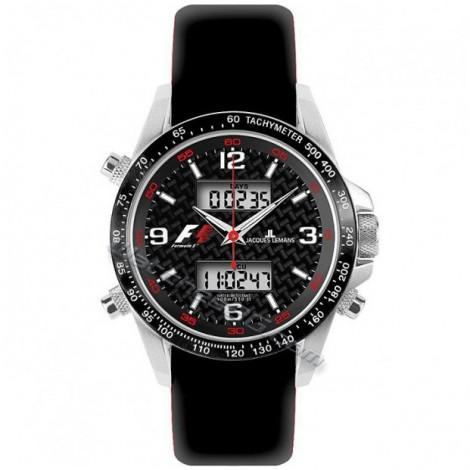 Часовник JACQUES LEMANS F1 F5009 Multifunction-Chrono F-5009A