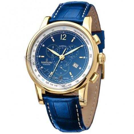 Часовник KRONSEGLER POSEIDON ADMIRAL KS728Blue Limited edition