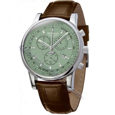Мъжки часовник KRONSEGLER DR.HOUSE Pulsometer Chronograph KS785Silver