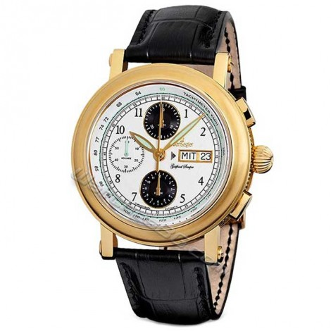 "Mъжки механичен часовник KRONSEGLER ""Deutsche Baumeisters"" KS901"