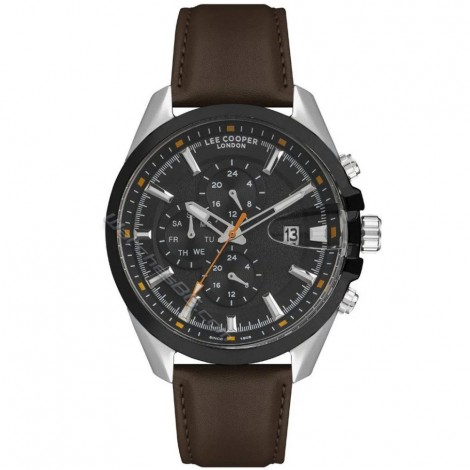 Мъжки кварцов часовник Lee Cooper Classic Dual Time LC07054.352