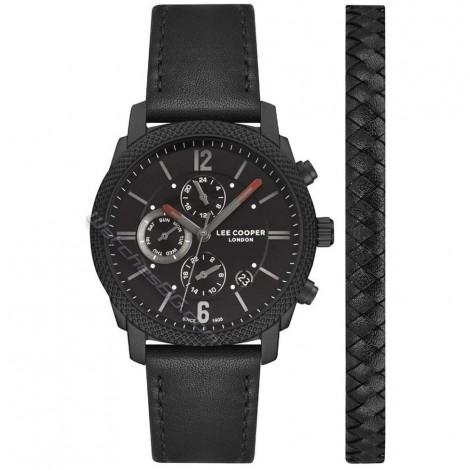 Мъжки кварцов часовник Lee Cooper Classic Dual Time LC07077.651