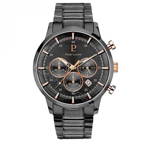 """Мъжки кварцов часовник Pierre Lannier """"Elegance Chrono"""" 244F489"""