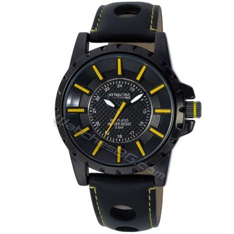 """Ежедневен мъжки часовник Q&Q """"Attractive"""" DA18J502Y"""