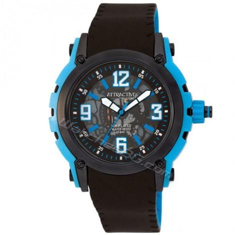 """Мъжки кварцов часовник Q&Q """"ATRACTIVE"""" DA44J525Y"""