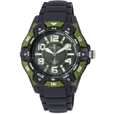 """Мъжки кварцов часовник Q&Q """"ATRACTIVE"""" DA50J003Y"""
