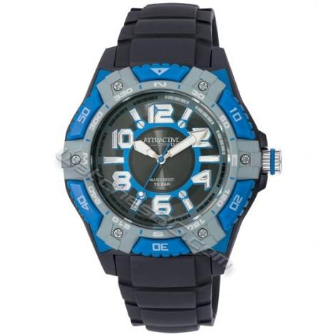 """Мъжки кварцов часовник Q&Q """"ATRACTIVE"""" DA50J006Y"""