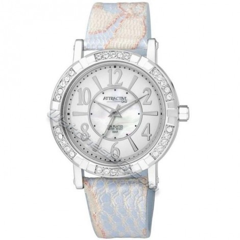 Дамски часовник Q&Q Attractive DA59J314Y