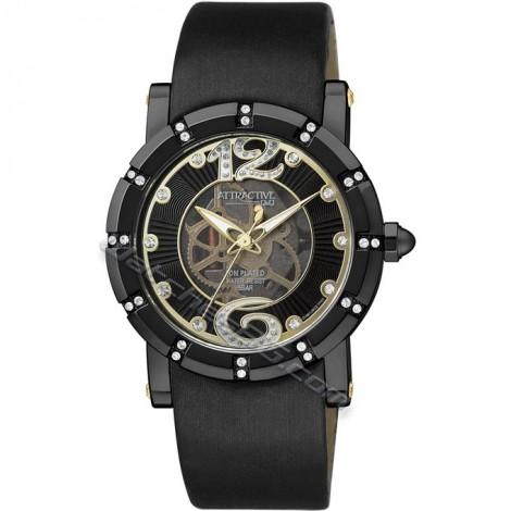 """Дамски кварцов часовник Q&Q """"Attractive"""" DA63J502Y"""