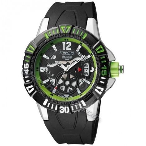 """Мъжки кварцов часовник Q&Q """"ATRACTIVE"""" DA72J302Y"""