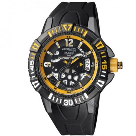 """Мъжки кварцов часовник Q&Q """"ATRACTIVE"""" DA72J512Y"""
