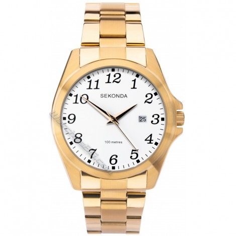 Мъжки кварцов часовник Sekonda S-1637.00