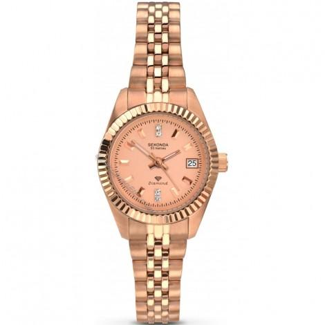 Дамски кварцов часовник Sekonda Diamond S-2063.27