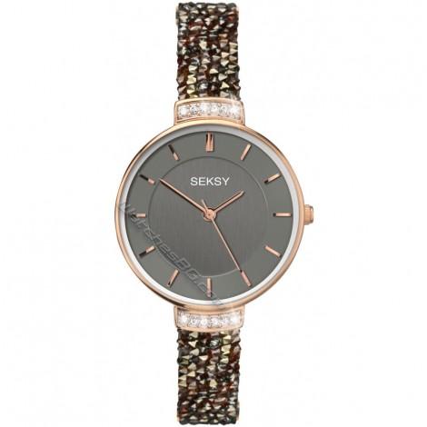 Дамски кварцов часовник Seksy Rocks® Swarovski S-2579.37