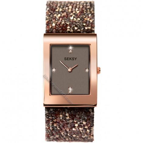 Дамски кварцов часовник Seksy Rocks® Swarovski S-2580.37