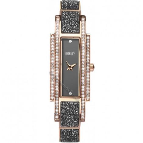 Дамски кварцов часовник Seksy Rocks® Swarovski S-2585.37