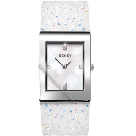 Дамски кварцов часовник Seksy Rocks® Swarovski S-2667.37