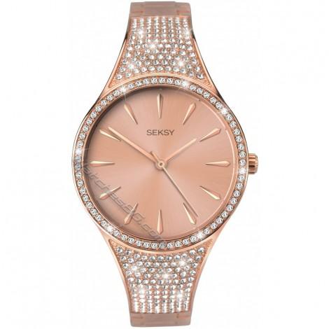 Дамски кварцов часовник Seksy Rocks® Swarovski S-2669.37