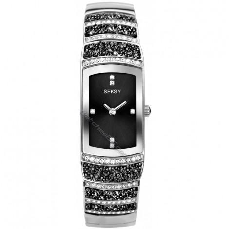 Дамски кварцов часовник Seksy Rocks® Swarovski S-2741.37