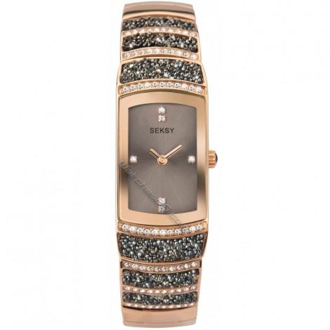 Дамски кварцов часовник Seksy Rocks® Swarovski S-2743.37