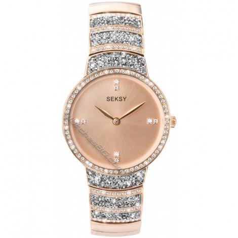 Дамски кварцов часовник Seksy Rocks® Swarovski S-2745.37