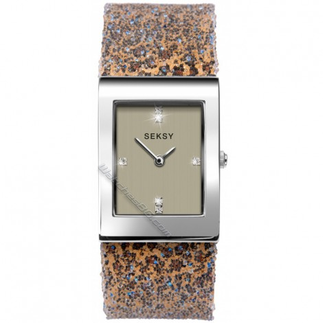Дамски кварцов часовник Seksy Rocks® Swarovski S-2851.37