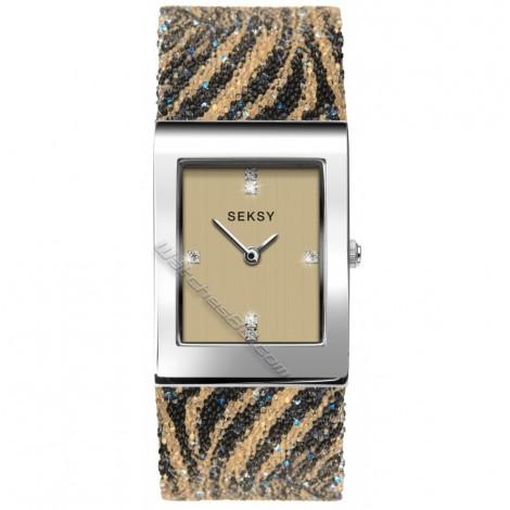 Дамски кварцов часовник Seksy Rocks® Swarovski S-2852.37