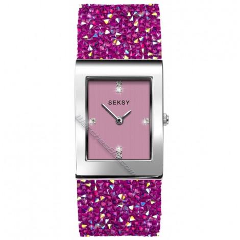 Дамски кварцов часовник Seksy Rocks® Swarovski S-2856.37