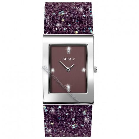 Дамски кварцов часовник Seksy Rocks® Swarovski S-2857.37