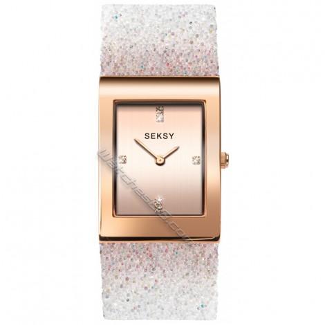 Дамски кварцов часовник Seksy Rocks® Swarovski S-2858.37