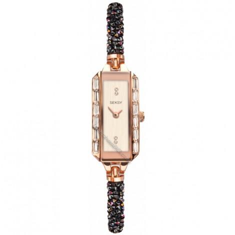 Дамски кварцов часовник Seksy Rocks® Swarovski S-2863.37
