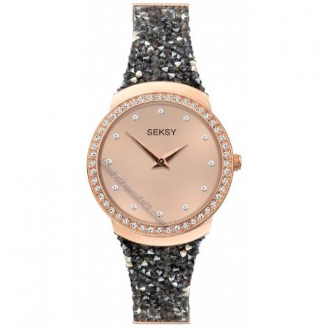 Дамски кварцов часовник Seksy Swarovski S-40041.37