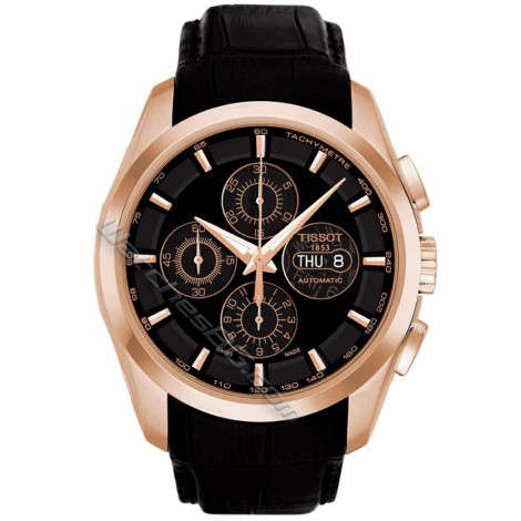 Мъжки механичен часовник TISSOT Couturier Т035.614.36.051.00 Chronograph